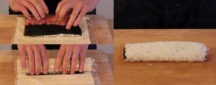 Roulage du sushi