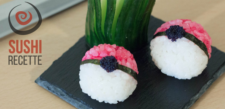 photo des sushi pokéball