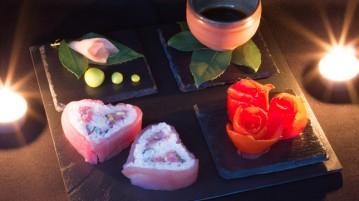 Sushi spécial pour la Saint-Valentin